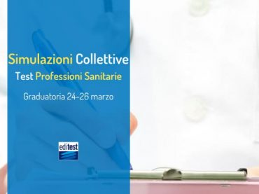 Graduatoria della prima simulazione collettiva di Professioni Sanitarie