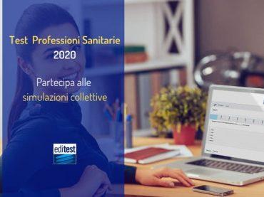 Simulazioni Collettive Test Professioni Sanitarie 2020: come partecipare