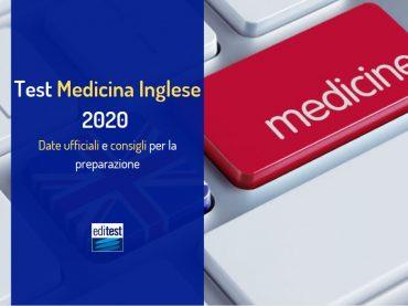 Test Medicina Inglese 2020: date e consigli per la preparazione