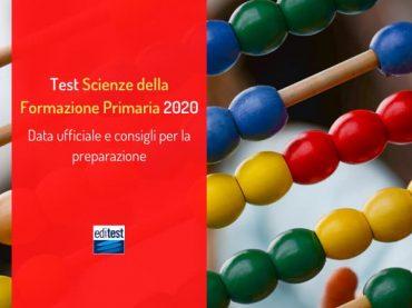 Test Scienze della Formazione Primaria 2020: la data ufficiale