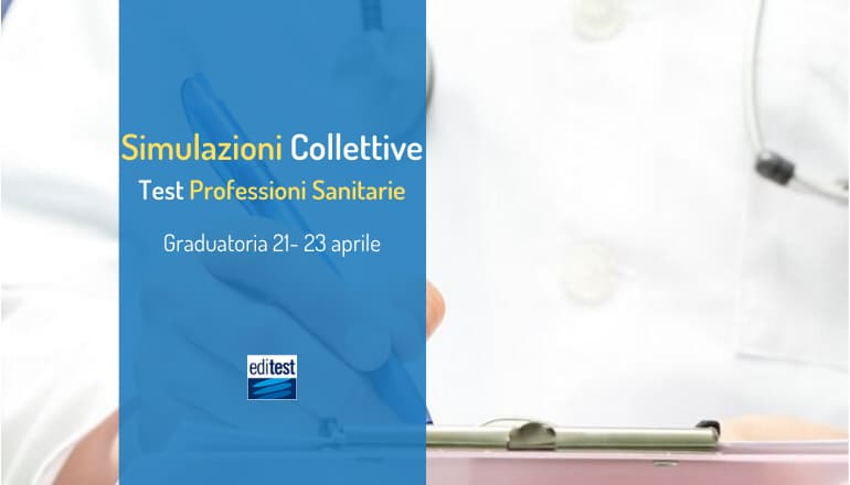 Terza simulazione collettiva Test Professioni sanitarie 2020