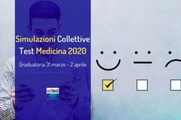 Graduatoria della terza simulazione collettiva del test di Medicina