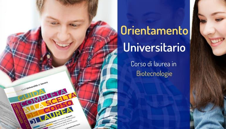 orientamento biotecnologie