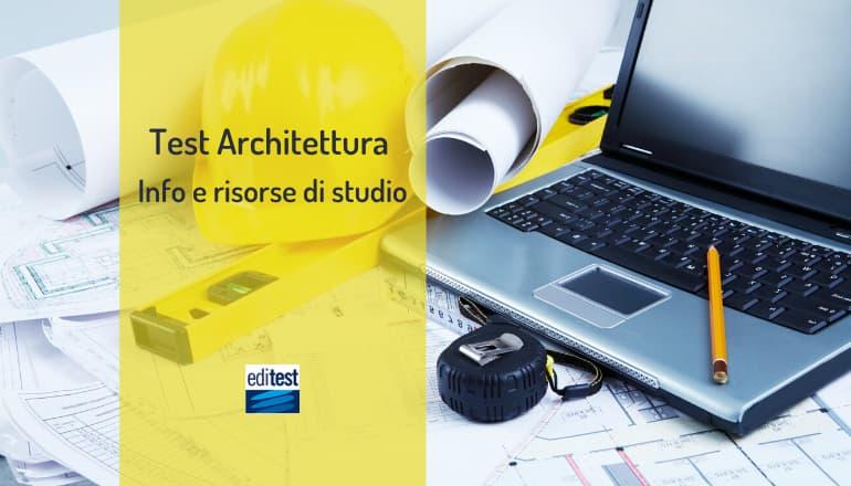 test architettura 2020