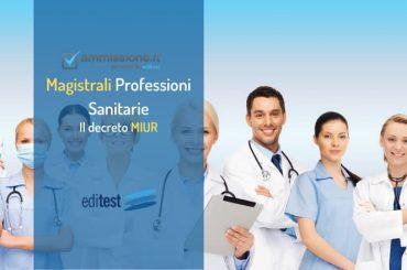 Test Magistrali Professioni Sanitarie: pubblicato il decreto MIUR