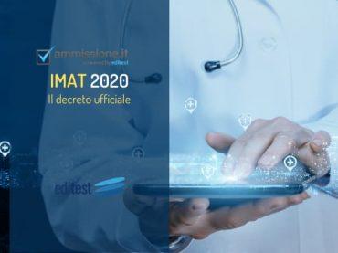 Test Medicina Inglese 2020: il decreto ufficiale
