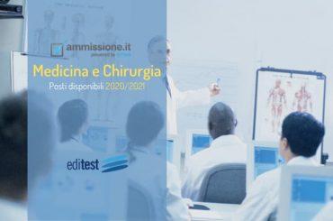 Medicina e Chirurgia 2020 (in italiano e inglese): definito il numero dei posti disponibili