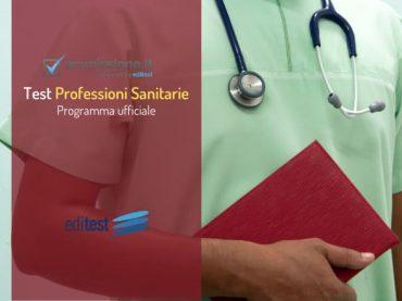 Programma test Professioni Sanitarie 2020: gli argomenti su cui prepararsi