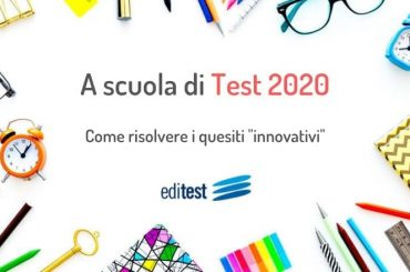 """Test di ammissione: impariamo a risolvere i quesiti """"innovativi"""" di area scientifica"""