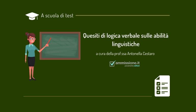 logica verbale test