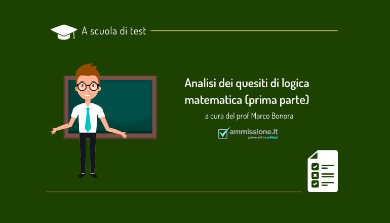 logica matematica test ammissione