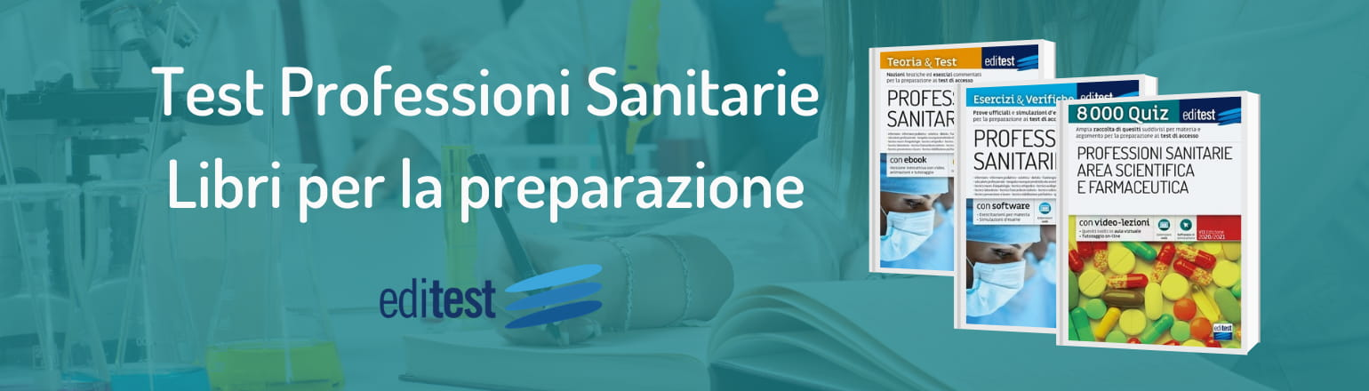libri test professioni sanitarie