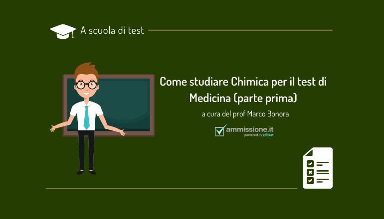 chimica test ammissione medicina