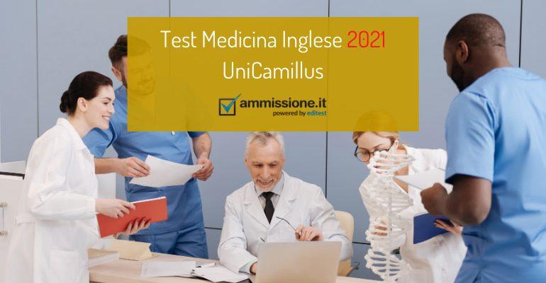 Test Medicina Inglese UniCamillus: pubblicato il bando 2021/2022
