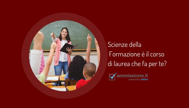 test attitudinale scienze della formazione primaria