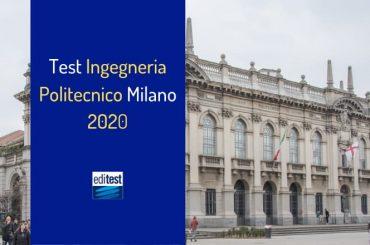 Test Ingegneria Politecnico Milano 2020: come prepararsi