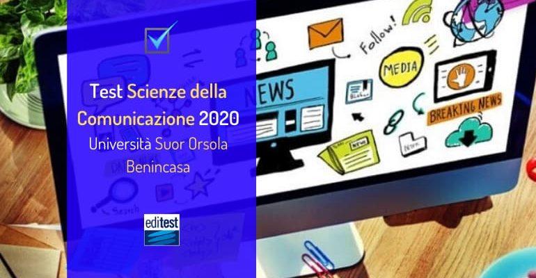 Università Suor Orsola Benincasa: test di ammissione a Scienze della Comunicazione