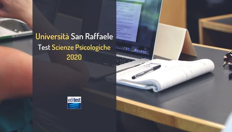 test scienze psicologiche san raffaele 2020