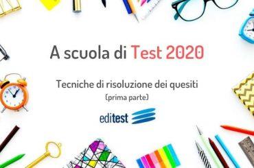 Test di ammissione: tecniche di risoluzione dei quesiti (prima parte)
