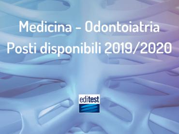 Medicina e Odontoiatria 2019/2020: la suddivisione dei posti disponibili