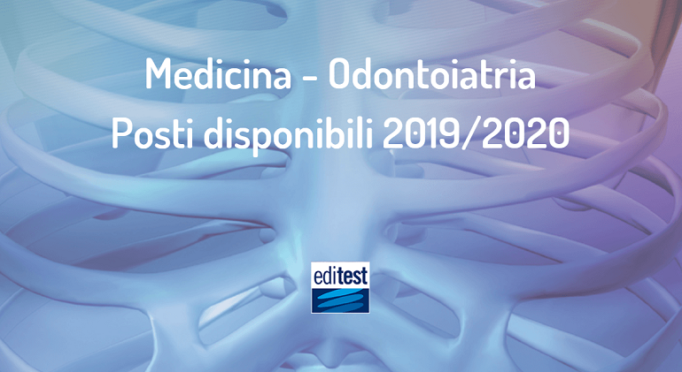test di ammissione medicina 2019 posti disponibili