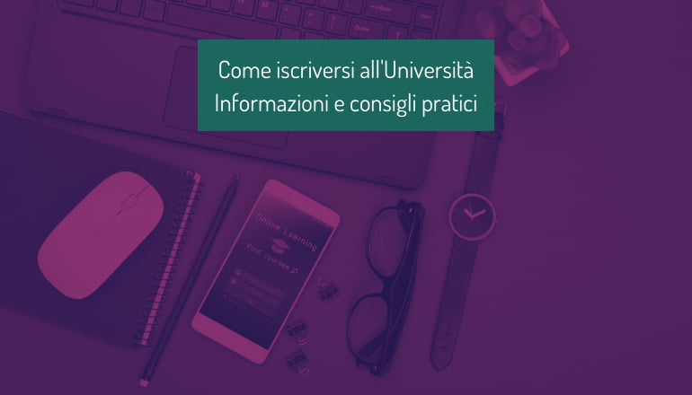 iscrizione università