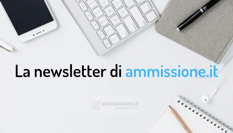 newsletter ammissione