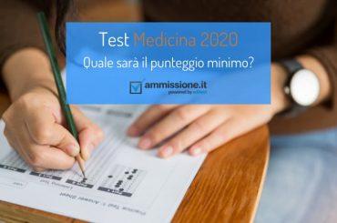 Test Medicina 2020: quale sarà il punteggio minimo?