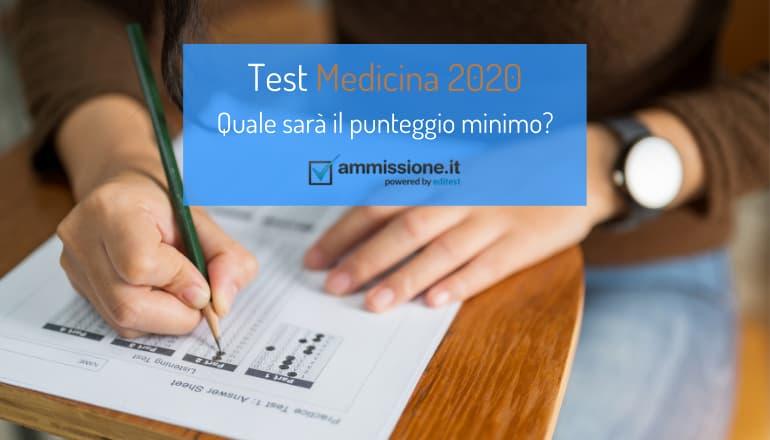 punteggio minimo medicina