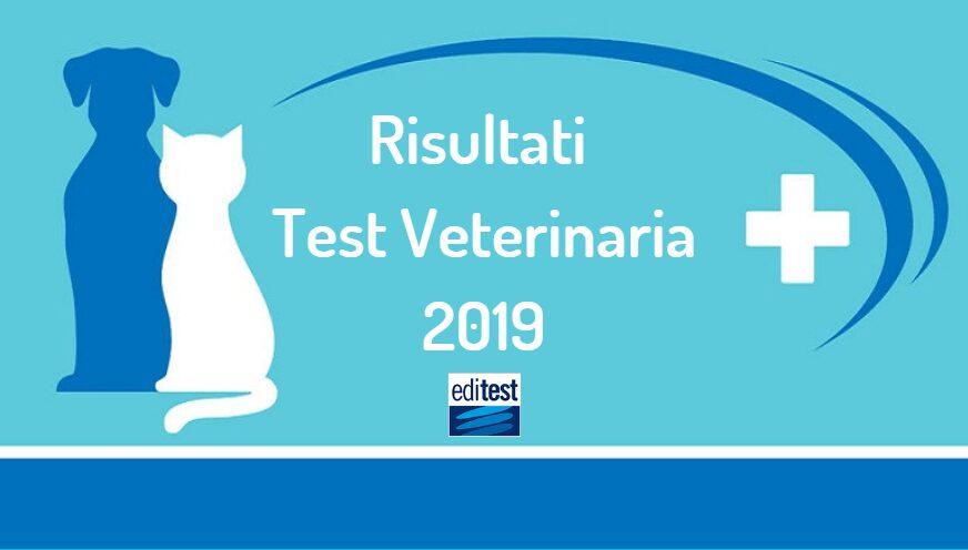 risultati test veterinaria 2019