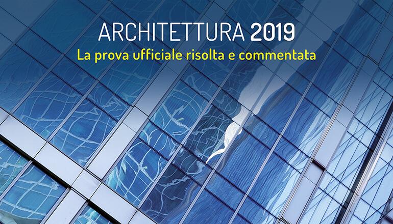 test ammissione architettura 2019
