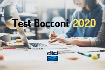 Test ingresso Bocconi 2020: la Spring Session si svolgerà a distanza