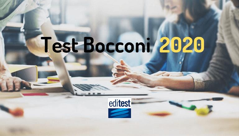 test bocconi 2020