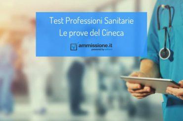 Test Professioni Sanitarie: la prova del Cineca