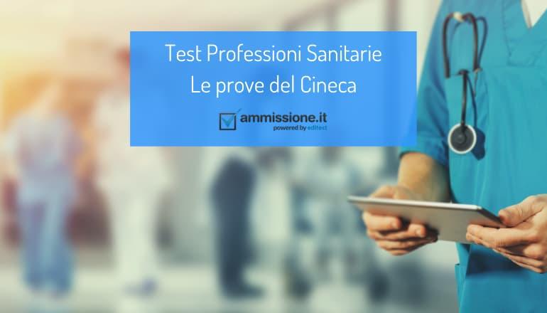 test cineca professioni sanitarie