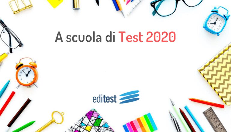 test ammissione medicina 2020