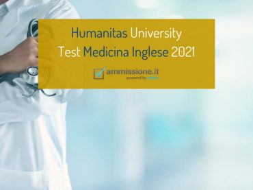 Medicina Inglese Humanitas: test il 12 e 13 febbraio 2021