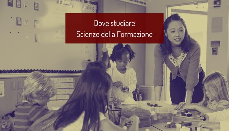 dove studiare scienze della formazione primaria
