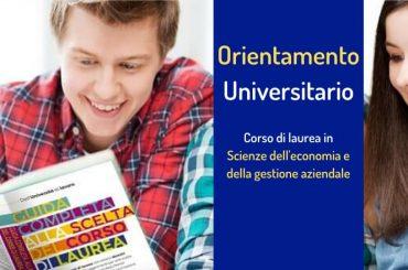 Orientamento alla scelta: corso di laurea in Scienze dell'economia e della gestione aziendale