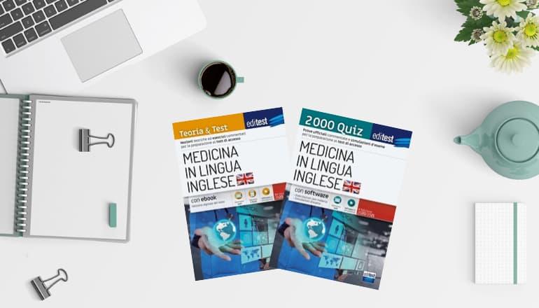 libri test medicina inglese 2020