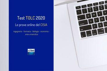 Test TOLC 2020: tutte le prove online del CISIA