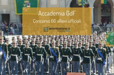 Concorso Allievi Ufficiali Accademia Guardia Finanza 2020: come prepararsi