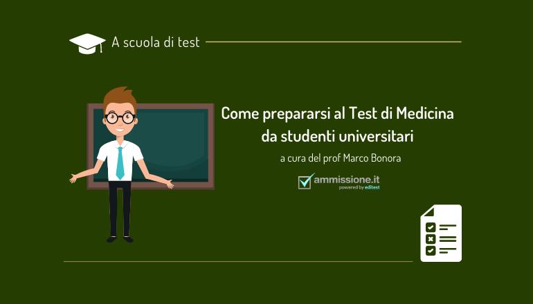 preparazione test medicina studenti universitari