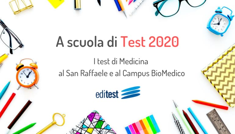 test medicina san raffaele campus biomedico