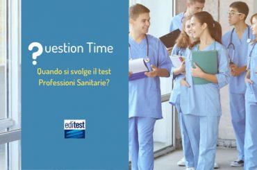 Quando si svolgerà il test Professioni Sanitarie 2020?