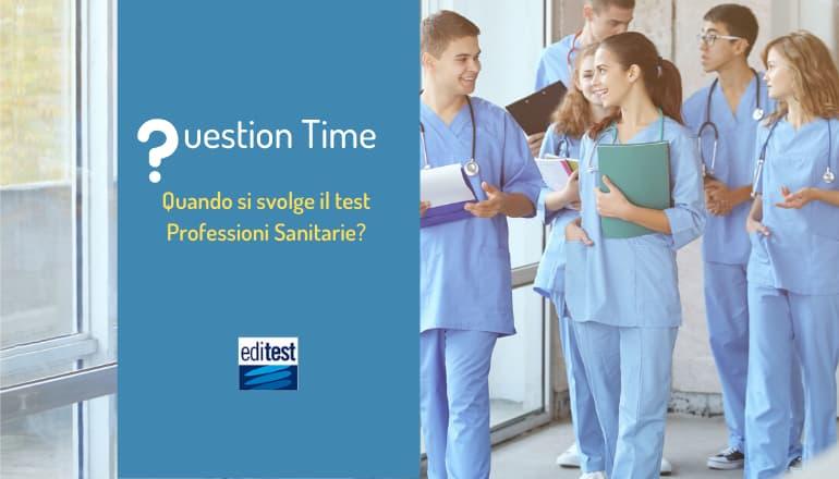 test professioni sanitarie 2020 quando
