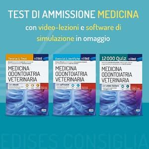 libri test medicina 2020