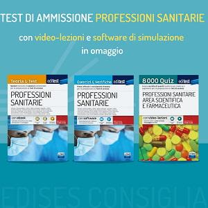 libri test professioni sanitarie