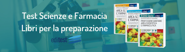 libri test scienze e farmacia