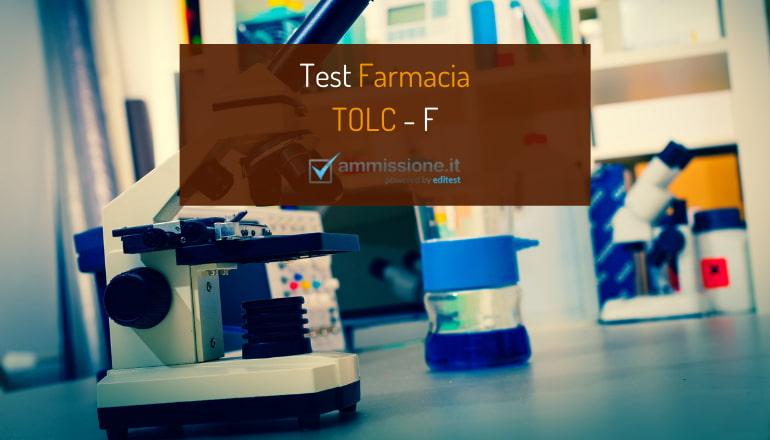 test farmacia tolc